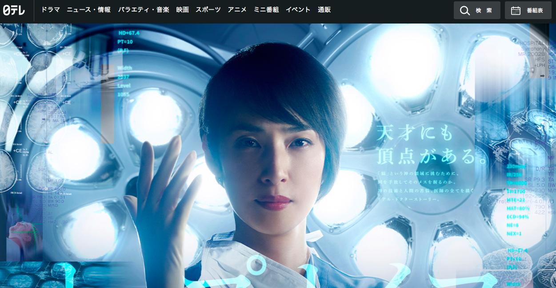 「トップナイフ-天才脳外科医の条件-」日本テレビより